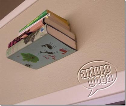 Biblioteca invisible (imágenes de Arturo Goga)