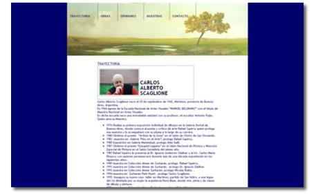 Carlos Scaglione - web site