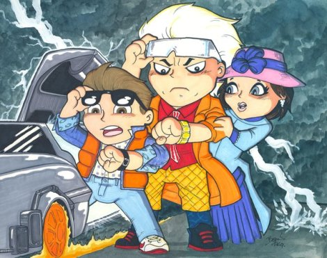 Chibi_Back_to_the_Future__by_hedbonstudios